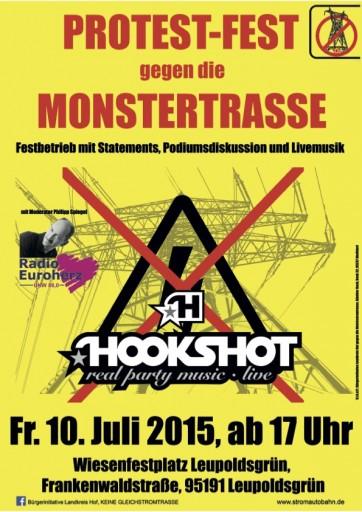 Protestfest_gegen_die_Monstertrasse_Plakat